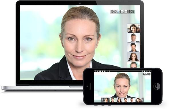 Alles was Sie benötigen Meetings Video und Desktop Sharing